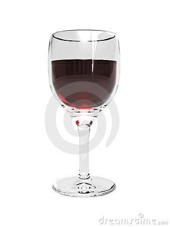 Free 3D Wine Glass With Wine Stock Photography - 5638122