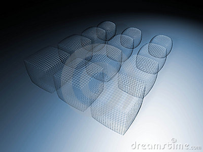 3D wireframe