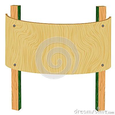 3d wooden billboard