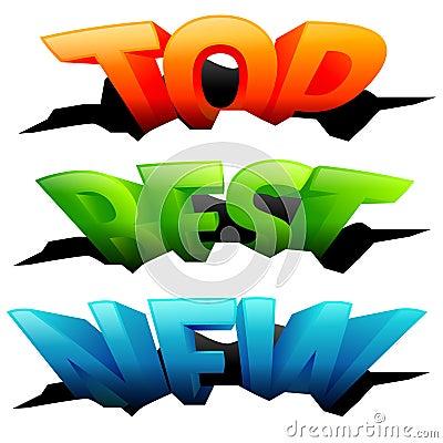 3D words