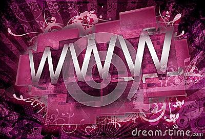 3D WWW Ornaments