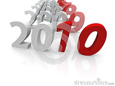 3D years till 2010