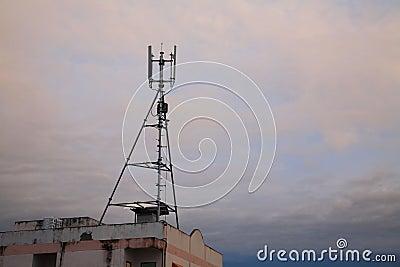 3G phone antenna tower