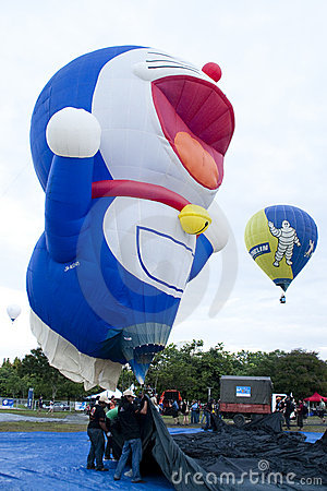 3rd Putrajaya International Hot Air Balloon Fiesta Editorial Photography