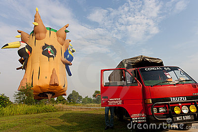3rd Putrajaya International Hot Air Balloon Fiesta Editorial Photo