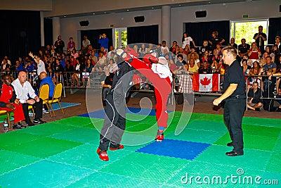 3rd world kickboxing championship 2011 Editorial Photography