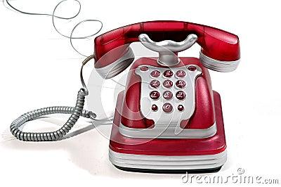 4个电话红色