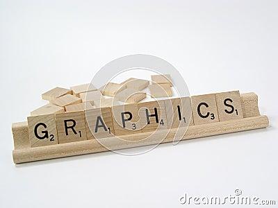 4个部分拼字游戏 图库摄影片
