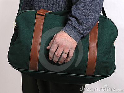 4绿色皮箱旅行