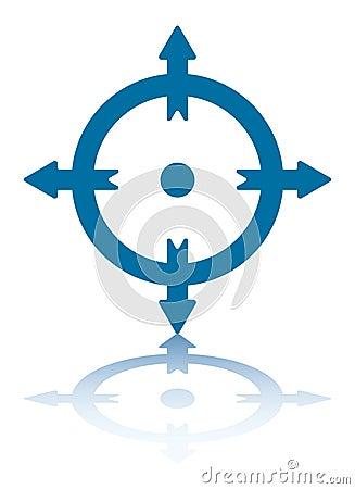 4 Arrows on a Circle