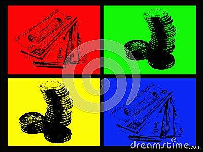 4 Color Money
