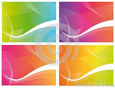 4 Colour Waves