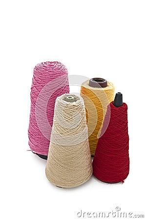 Free 4 Cones Of Wool Stock Photos - 19053983