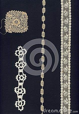 4 different 1800 laces