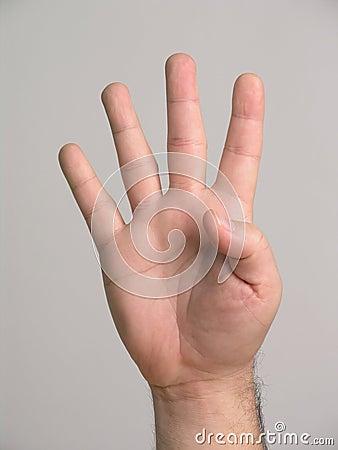 Fingers - 4 Stock Image - Image: 3136971