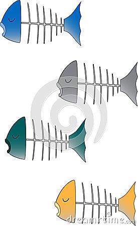 4 Fish Heads