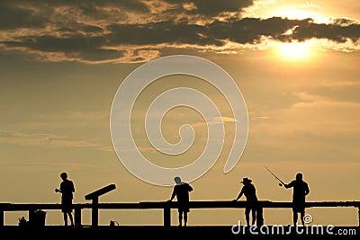 4 fisherman
