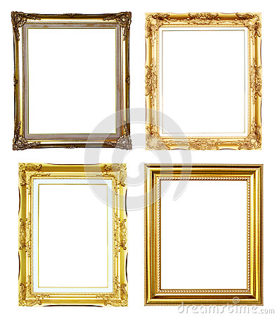 4 golden frame