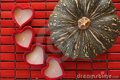 4 hearts for the pumpkin!