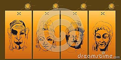 4 Indian gods