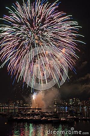 4. Juli-Feuerwerke