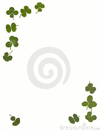 4 leaf clover stationary