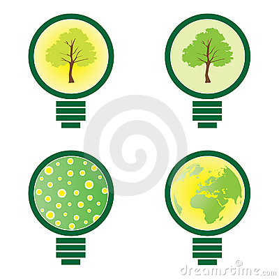 4 Light Bulb - environmental illustration
