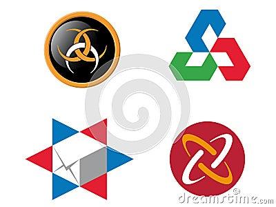 4 logo elements