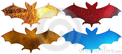 4 metal bats silhouette