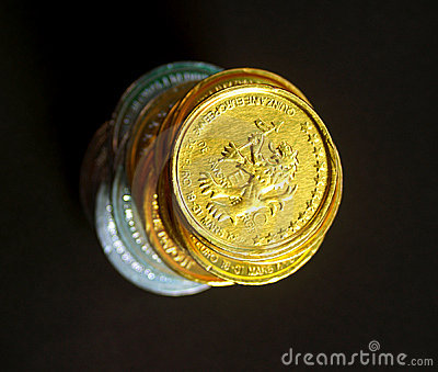 4 monety
