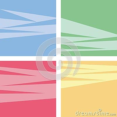 4 Retro backgrounds