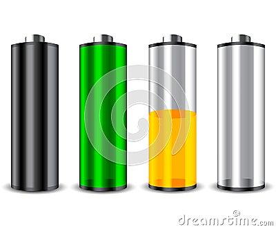 4 set battery