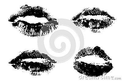 4 sets of Lips
