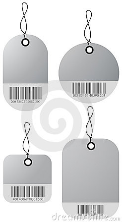 4 shopping price tags