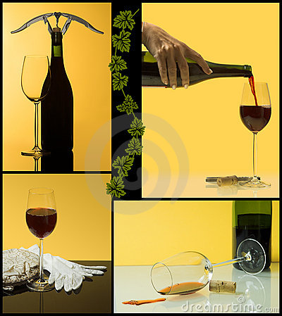 4 steps of wine