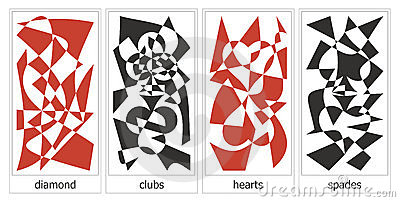 4 suits of cards