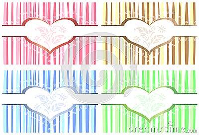 4 Valentine cards