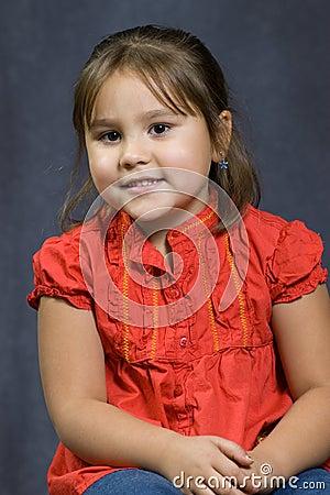 4 Year Old Portrait