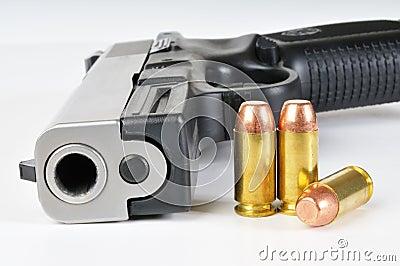 40 caliber firearm