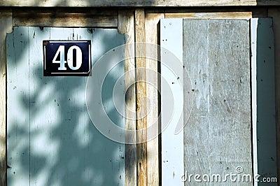 40 door