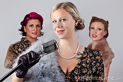 40 s singing group