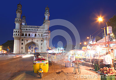 400 year old Charminar Editorial Stock Image