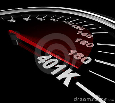 401K - Number on Speedometer