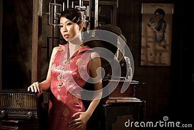 40's Chinese girl