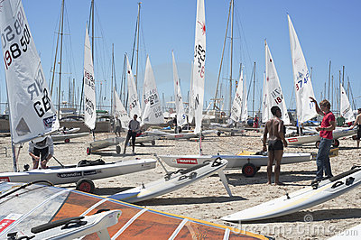 42 Pincesa Sofia sailing trophy in Mallorca Editorial Photography