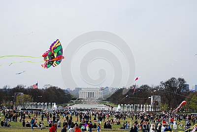 42nd Annual Smithsonian Kite Festival 2008 Editorial Stock Image
