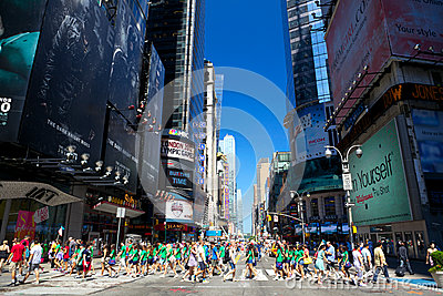 42nd Street Editorial Image