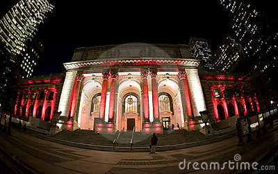 42nd street library NY Editorial Stock Photo