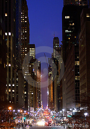 Free 42nd Street, New York City Royalty Free Stock Photography - 3387787