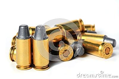 .45 ACP bullet.